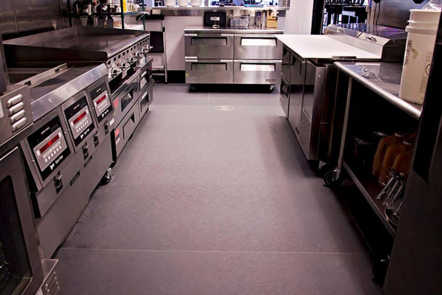 Floor For Restaurants Kitchen Eco Tek Floors